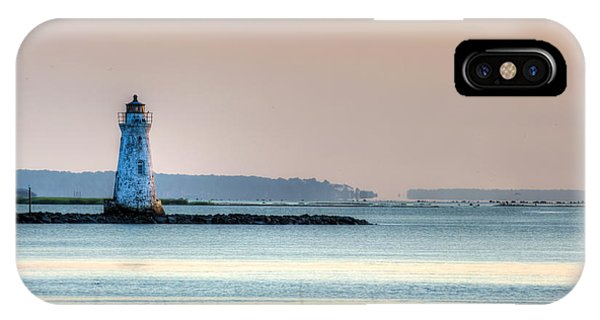 Cockspur Lighthouse IPhone Case