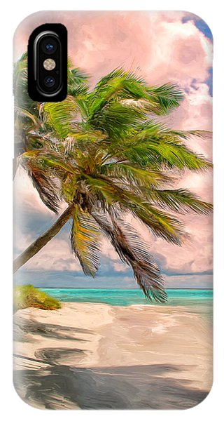 Coco Palms IPhone Case
