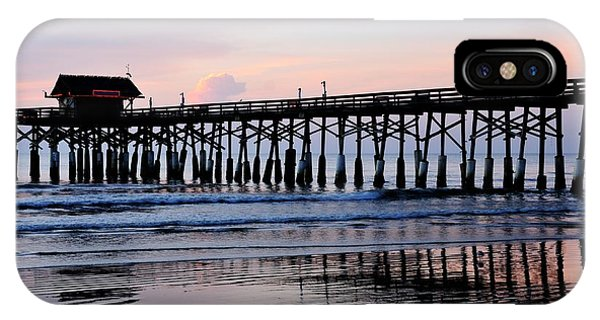 Cocoa Beach Pier In Early Morning IPhone Case