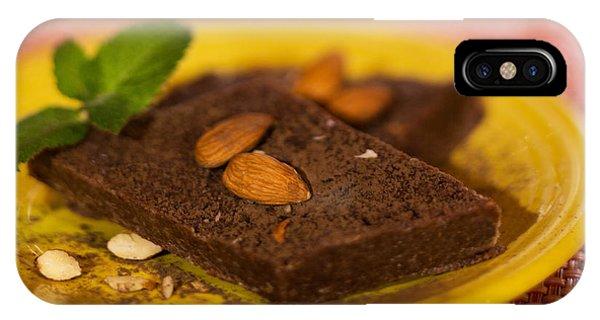 It Professional iPhone Case - Coconut Almond Squares by Iris Richardson