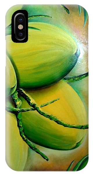 Coconut In Bloom IPhone Case