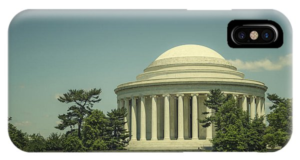 Jefferson Memorial iPhone Case - Code Of Honor by Evelina Kremsdorf