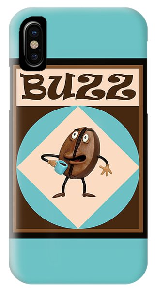 Coffee Buzz IPhone Case