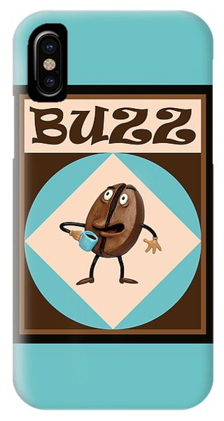 Coffee Buzz IPhone Case