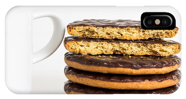 Coffee And Cookies. Phone Case by Gary Gillette