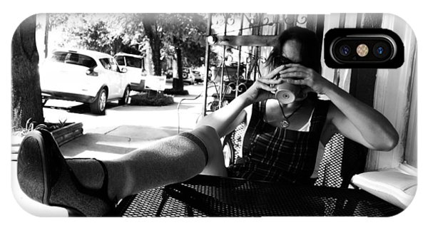 Coffee Break New Orleans Style IPhone Case