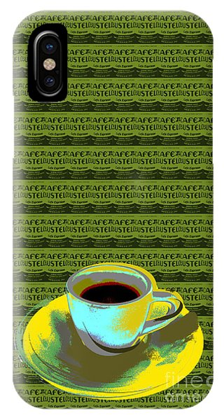 Coffee Cup Pop Art IPhone Case