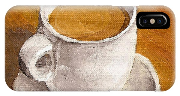 iPhone Case - Coffee Espresso Cup And Saucer by