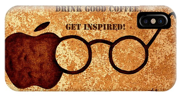 Coffee Lovers Quote 2 IPhone Case