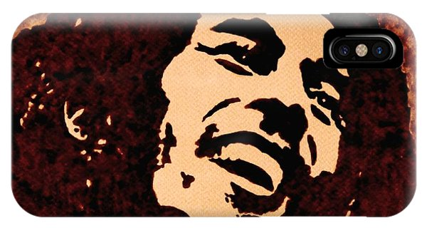 Coffee Painting Bob Marley IPhone Case