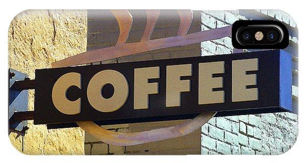 Coffee Shop IPhone Case