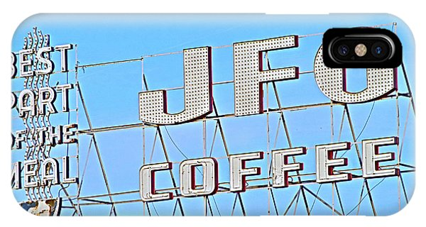 Coffee Sign IPhone Case