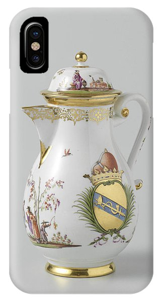 Lid iPhone Case - Coffeepot With Lid by Quint Lox