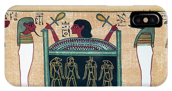 Coffin Of Osiris Phone Case by Sheila Terry/science Photo Library