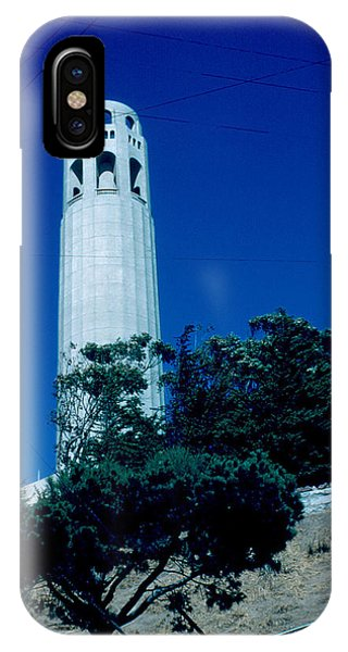 Coit Tower 1955 Phone Case by Cumberland Warden