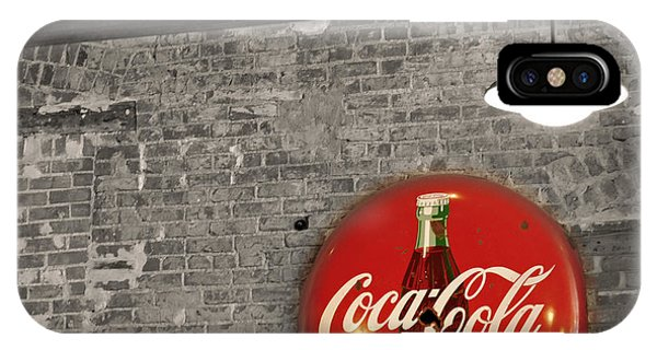 Coke Cola Sign IPhone Case