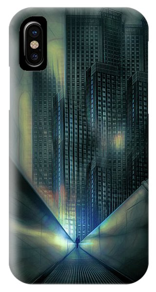 Texture iPhone Case - Cold Architecture by Stefan Kierek