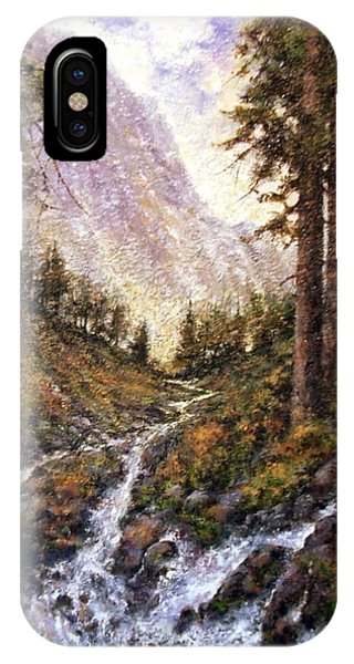 iPhone Case - Cold Creek by Jim Gola