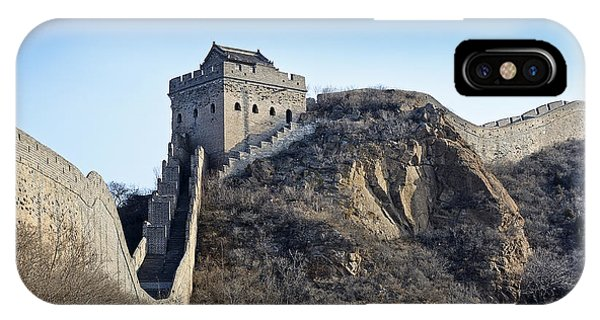 Cold Day On The Great Wall Of China IPhone Case