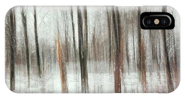 Winter iPhone Case - Cold by Gustav Davidsson