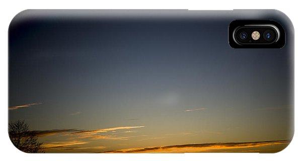 Cold Morning Sunrise IPhone Case