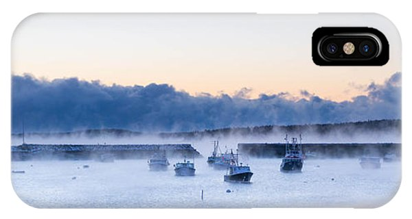 Cold New England Day  IPhone Case
