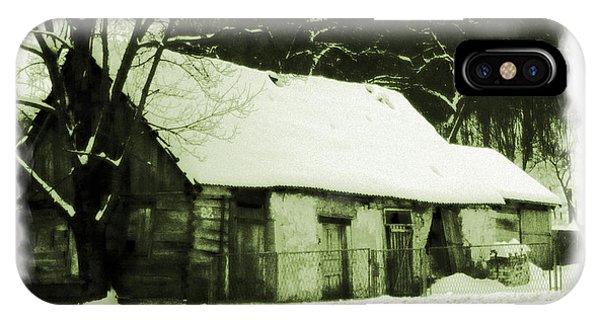 Countryside Winter Scene IPhone Case