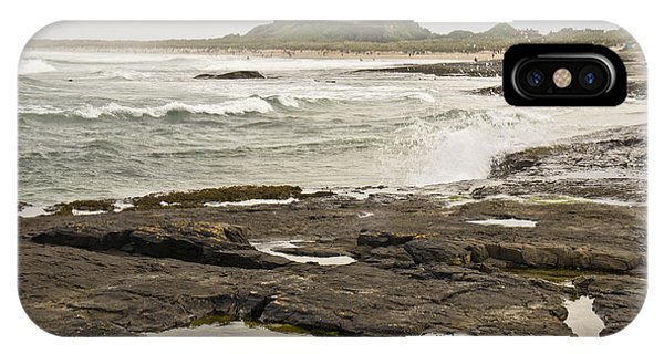 Cold Waves Of Northumberland IPhone Case