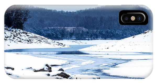 Cold Winter Day IPhone Case