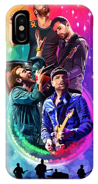 Coldplay iPhone Case - Coldplay Mylo Xyloto by FHT Designs