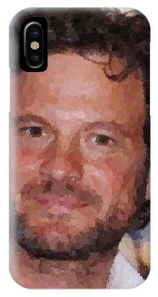 Colin Firth Portrait IPhone Case