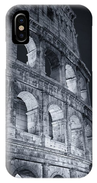 Ancient Rome iPhone Case - Colosseum Before Dawn by Joan Carroll