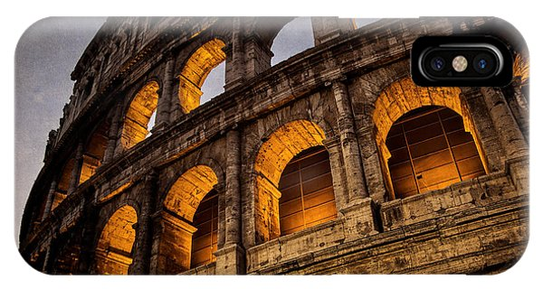 Ancient Rome iPhone Case - Colosseum Dawn by Joan Carroll