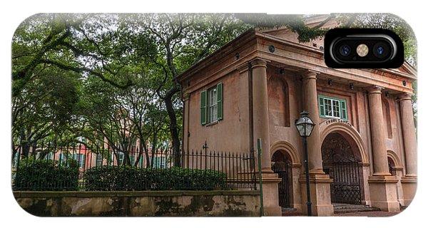 College Of Charleston Campus IPhone Case