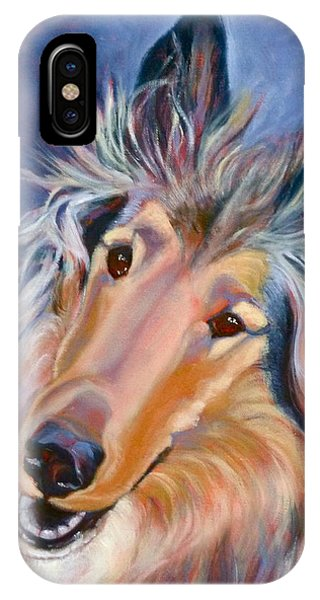 Collie Star IPhone Case