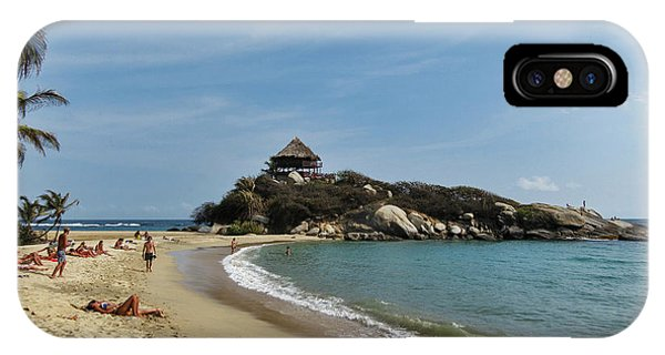 Colombia iPhone Case - Colombia, Tayrona National Park, Cabo by Matt Freedman