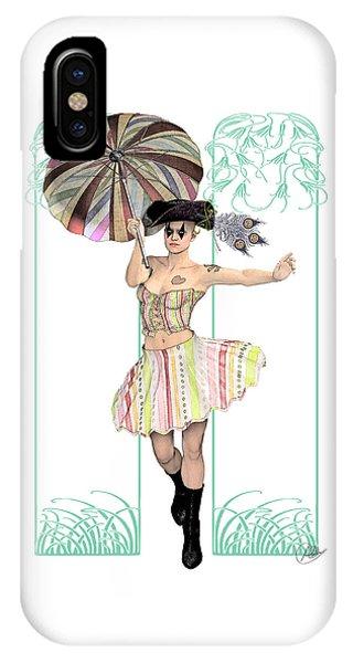 Arte iPhone Case - Columbine Pirate Girl by Quim Abella