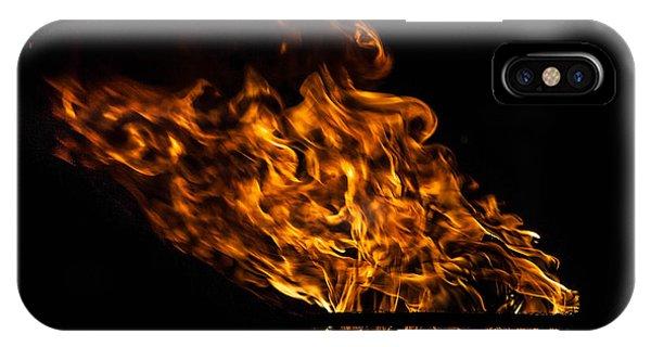 Fire Cresset IPhone Case