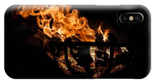 Fire Cresset Two IPhone Case