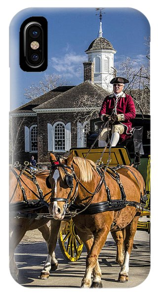 Colonial Transportation Phone Case by Gene Myers