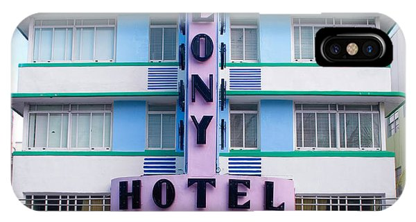 Colony Hotel Daytime IPhone Case