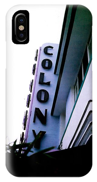Colony Polaroid IPhone Case