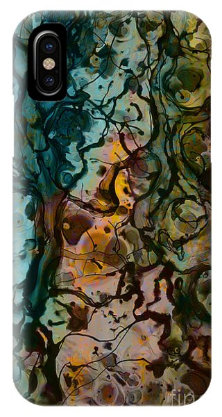 Color Abstraction Xvi IPhone Case