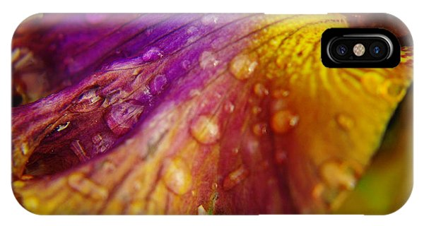 Color And Droplets IPhone Case
