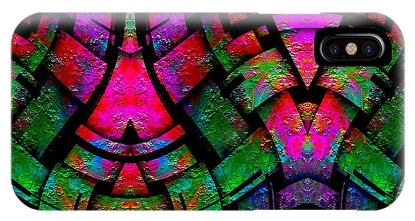 IPhone Case featuring the digital art Color By Jesus by Visual Artist Frank Bonilla