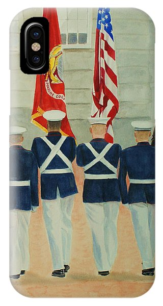 Color Guard IPhone Case