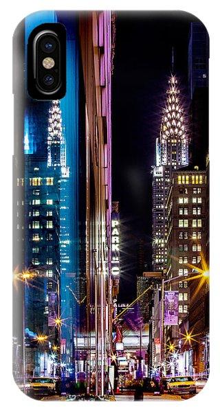 Architectural iPhone Case - Color Of Manhattan by Az Jackson