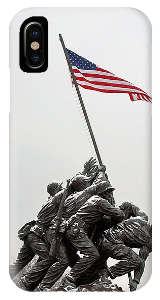 American iPhone Case - Color On A Grey Day by JC Findley