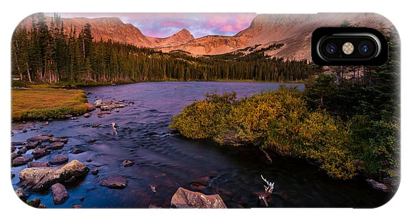 Indian Peaks Wilderness iPhone Case - Color Over  Indian Peaks by Steven Reed