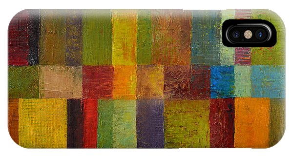 Color Panel Abstract Ll IPhone Case